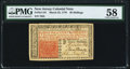 Colonial Notes:New Jersey, New Jersey March 25, 1776 30s PMG Choice About Unc 58....