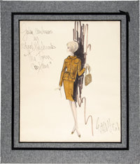Julie Andrews Torn Curtain Costume Design By Edith Head (1966)