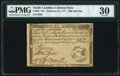 Colonial Notes:South Carolina, South Carolina February 14, 1777 $20 PMG Very Fine 30....