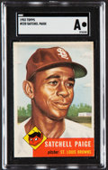 Baseball Cards:Singles (1950-1959), 1953 Topps Satchell Paige #220 SGC Authentic....