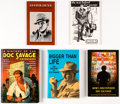 Books:General, Lester Dent/Doc Savage Biographies Group of 5 (Various Publishers, 1974-2006).... (Total: 5 Items)