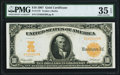Large Size:Gold Certificates, Fr. 1172 $10 1907 Gold Certificate PMG Choice Very Fine 35 EPQ.. ...