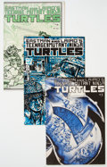 Modern Age (1980-Present):Superhero, Teenage Mutant Ninja Turtles #2-5 Group (Mirage Studios, 1984-85)Condition: Average VF/NM.... (Total: 4 Comic Books)
