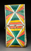 American Indian Art:Pipes, Tools, and Weapons, A Plains or Plateau Painted Parfleche Envelope . c. 1900...