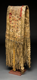 American Indian Art:Beadwork and Quillwork, An Apache Double Saddle Bag. c. 1880...