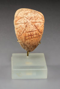 A Taino Shell Maskette c. 1000-1400 AD