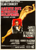 Movie Posters:James Bond, Goldfinger (United Artists, 1964). Fine/Very Fine on Linen...