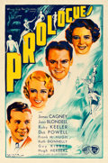 Movie Posters:Musical, Footlight Parade (Warner Brothers, 1934). Very Fine on Lin...