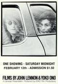 Movie Posters:Documentary, Films by John Lennon and Yoko Ono (John Lennon and Yoko On...