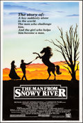 "Movie Posters:Western, The Man from Snowy River & Other Lot (20th Century Fox, 1982).Fine- on Foam Core. Trimmed One Sheets (2) (26.5"" X 40.25"" &... (Total: 2 Items)"