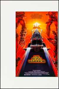 """The Road Warrior (Warner Brothers, 1982). Rolled, Very Fine. Printer's Proof Mini Poster (25"""" X 38""""). Science..."""
