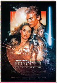 Star Wars: Episode II - Attack of the Clones (20th Century Fox, 2002). Rolled, Very Fine/Near Mint. Printer's Proof One...