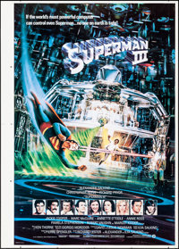 Superman III (Warner Brothers, 1983). Rolled, Very Fine. Printer's Proof One Sheet & Printer's Proof Internation...