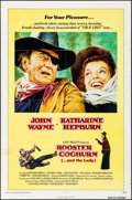 "Movie Posters:Western, Rooster Cogburn & Other Lot (Universal, 1975). Folded,Fine/Very Fine. One Sheets (2) (27"" X 41""). Western.. ... (Total: 2Items)"