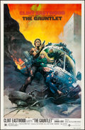"The Gauntlet (Warner Brothers, 1977). Folded, Very Fine+. One Sheet (27"" X 41""). Frank Frazetta Artwork. Actio..."