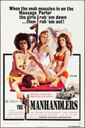 "Movie Posters:Bad Girl, The Manhandlers (Premiere Releasing, 1973). Folded, Very Fine-. OneSheet (27"" X 41""). John Solie Artwork. Bad Girl.. ..."