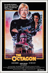 "The Octagon & Other Lot (American Cinema, 1980). Folded, Fine/Very Fine. One Sheets (4) (27"" X 41"") 2 Styl..."