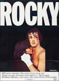 "Movie Posters:Academy Award Winners, Rocky (Cine Poster, Early 1980s). Folded, Very Fine. French Commercial Grande (45.5"" X 62""). Academy Award Winners.. ..."