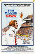 "Movie Posters:Sports, Le Mans (National General, 1971). Folded, Fine/Very Fine. One Sheet(27"" X 41""). Sports.. ..."