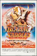 "Movie Posters:Comedy, Blazing Saddles (Warner Brothers, 1974). Folded, Very Fine-. OneSheet (27"" X 41""). John Alvin Artwork. Comedy.. ..."