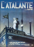 """Movie Posters:Foreign, L'Atalante (GFFA, R-1980s). Folded, Very Fine+. French Grande (45.5"""" X 62.25"""") Michel Gondry Artwork. Foreign.. ..."""