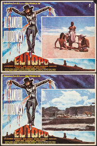 """El Topo (Panic S.A., 1971). Fine/Very Fine. Mexican Lobby Cards (2) (12.25"""" X 16.25""""). Western"""