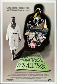 """It's All True (Paramount, 1993). Rolled, Very Fine. One Sheet (27"""" X 40"""") SS. Documentary"""