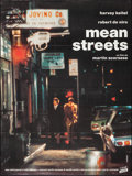 "Movie Posters:Crime, Mean Streets (Cine Classic, R-1980s). Folded, Very Fine. FrenchGrande (46.5"" X 62.5""). Crime.. ..."