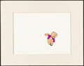 "Movie Posters:Animation, Porky Pig (Warner Brothers, Late 1960s- Early 1970s). Fine/VeryFine. Matted Korean Colorization Animation Cels (2) (14"" X 1...(Total: 2 Items)"