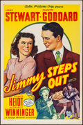 "Movie Posters:Comedy, Pot O' Gold (Astor Pictures, R-1946). Rolled, Very Fine-. One Sheet (27"" X 41"") Reissue Title: Jimmy Steps Out. Comedy...."