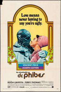 """The Abominable Dr. Phibes (American International, 1971). Folded, Very Fine-. One Sheet (27"""" X 41""""). Horror..."""