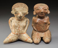 Two Nayarit Chinesco Seated Figures... (Total: 2)