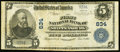 National Bank Notes:Pennsylvania, Shippensburg, PA - $5 1902 Plain Back Fr. 598 The First NB Ch. #834 Fine.. ...