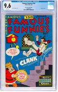 Golden Age (1938-1955):Miscellaneous, Famous Funnies #150 Mile High Pedigree (Eastern Color, 1947) CGC NM+ 9.6 White pages....