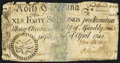Colonial Notes:North Carolina, North Carolina April 4, 1748 40s Fine.. ...