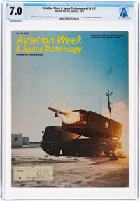 MAGAZINES: Aviation Week & Space Technology Dated April 23, 1979, Directly From The Armstron