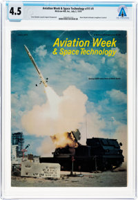 MAGAZINES: Aviation Week & Space Technology Dated July 2, 1979, Directly From The Armstrong