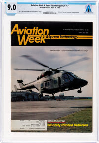 Magazines: Aviation Week & Space Technology Dated April 28, 1986, Directly From The Armstrong Family Collection™...
