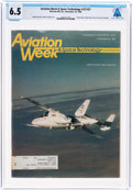 Explorers:Space Exploration, Magazines: Aviation Week & Space Technology Dated November 25, 1985, Directly From The Armstrong Family Collection...