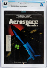 Magazines: Aerospace America Dated August 1988, Directly From The Armstrong Family Collection™, CAG Certified and