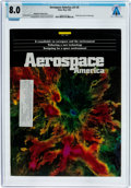 Explorers:Space Exploration, Magazines: Aerospace America Dated May 1993, Directly From The Armstrong Family Collection™, CAG Certified and Gra...