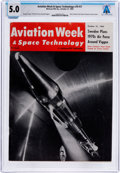 Explorers:Space Exploration, Magazines: Aviation Week & Space Technology Dated October 21, 1963, Directly From The Armstrong Family Collection™...