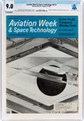 Explorers:Space Exploration, Magazines: Aviation Week & Space Technology Dated August 14, 1967, Directly From The Armstrong Family Collection™,...