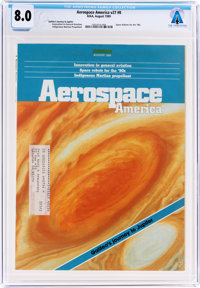 Magazines: Aerospace America Dated August 1989, Directly From The Armstrong Family Collection™, CAG Certified and