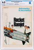 Explorers:Space Exploration, Magazines: Astronautics & Aeronautics Dated December 1973, Directly From The Armstrong Family Collection™, CAG Cer...