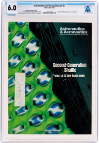 Magazines: Astronautics & AeronauticsDated June 1983, Directly From The Armstrong Family Collection™, CAG Certif...