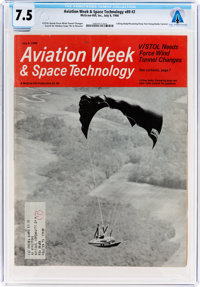 Magazines: Aviation Week & Space Technology Dated July 8, 1968, Directly From The Armstrong Family Collection™...