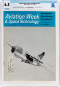 Explorers:Space Exploration, Magazines: Aviation Week & Space Technology Dated July 1, 1968, Directly From The Armstrong Family Collection™, CA...