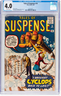 Tales of Suspense #10 (Marvel, 1960) CGC VG 4.0 Off-white pages