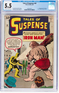 Tales of Suspense #40 (Marvel, 1963) CGC FN- 5.5 Off-white to white pages